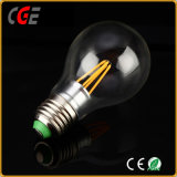 E27 4W 6W Edison A60 Gold/silberne des Heizfaden-LED Beleuchtung Birnen-Licht-niedrigen des Preis-LED der Birnen-LED der Lampen-LED