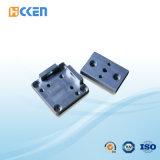 음향 기재를 위한 까만 양극 처리된 알루미늄 전면 플레이트를 기계로 가공하는 ISO 9001 CNC