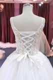 Vestido de casamento dos vestidos nupciais da esfera do laço