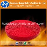 Crochet et boucle ignifuges personnalisés de Velcro de qualité
