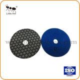 125mm Tampon de polissage des diamants utilisés à sec