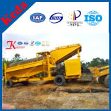 100% New Gold Dust Separator Washing Plant From Clouded