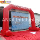 La publicité à bas prix le plus récent de la conception de la structure d'arche de l'air gonflable avec la bannière