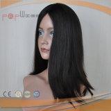 Peluca atada mano completa de las mujeres del pelo de la Virgen (PPG-l-01103)