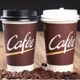 café disponible de las tazas de papel 6oz/8oz/taza de papel del té impresa