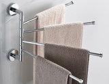 Guida di tovagliolo della parte girevole degli accessori della stanza da bagno della barra di tovagliolo della parte girevole dell'acciaio inossidabile di Inox