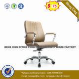 백색 회색 색깔 회전대 PU 가죽 행정실 의자 (NS-060B)