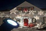 Lampe décorative de projection de flocon de neige de Noël de lumière de pelouse imperméable à l'eau de jardin pour l'usager