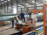 Maquinaria compuesta del equipo de la máquina de enrollamiento del tubo del tubo de la fibra de vidrio GRP FRP