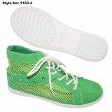 Fashion tapetes para meninas estudante confortável sapatos de lona
