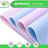 China-Lieferanten-Baumwolle- und Polyester Anti-Staub Scherflein-Matratze-Deckel-Krippe-MatratzeEncasement