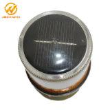 높은 광도 재충전용 LED 태양 경고등 램프