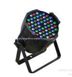 IP 20 54X3w RGBW 4в1 для использования внутри помещений LED PAR 64 лампа
