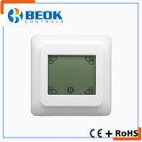 Termóstato del sitio con la pantalla táctil para los sistemas de calefacción de suelo