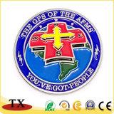 Personnaliser la couleur de remplissage Deboss Médaille de la Croix Rouge