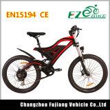 Bici di montagna elettrica di approvazione del Ce En15194 con la rotella integrated