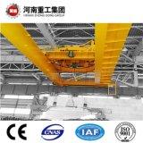 Schwerer Kran des Kapazitäts-Doppelt-Träger-Bridge/EOT/Overhead für den Materialtransport