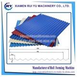 形作る波形のプロフィールの金属板の屋根ふきロール機械を作る