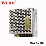 China-Lieferant Weho 15W 5V Gleichstrom-Versorgung