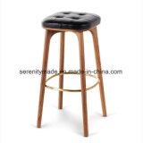 Bar le mobilier vintage Tabouret de bar Chaise haute en bois