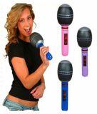 De opblaasbare Muzikale Instrumenten van de Microfoon van het Stuk speelgoed van pvc