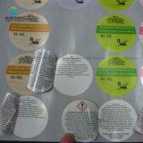China-Qualität angepasst ringsum Papierfirmenzeichen-Aufkleber, farbiges Drucken-Dichtungs-Aufkleber,