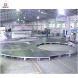 Оборудование этапа ставит этапы алюминия платформы