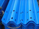 Galvanisierte beschichtende blaue Leitschiene