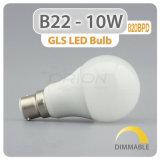 AC 220V lâmpada LED economizador de energia E27 B22 12W para iluminação doméstica