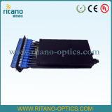 Módulo da gaveta da fibra óptica de MPO