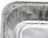 La moitié de la taille de la vapeur Table rectangulaire en aluminium Pan