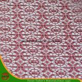 Tessuto del poliestere del ricamo di alta qualità (HSHY-1705)