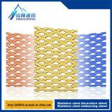 Adattamento di perforazione decorativo del piatto del metallo della superficie del quadrato del piatto dell'acciaio inossidabile