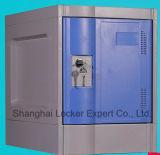 Seis niveles el armario de plástico (H1980*W320*D480mm)