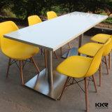De kunstmatige Marmeren Stevige Vierkante Lijst van het Restaurant van de Oppervlakte (T1711277)