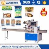 Machines à emballer de nouilles instantanées de palier/type automatiques de flux enveloppant la machine de cachetage