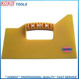 Желтый цвет пластика ABS скребок (#07735)