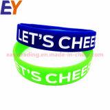 Bom preço pulseiras de Silicone personalizado a China e o bracelete para desportos