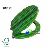 Fsc/BSCI verificado fabricante impresión madera Inodoro