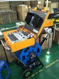 Unten und Seitenansicht-Gefäß-Vertiefungs-Inspektion-Videokamera prüfen Bohrloch
