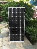 高品質の中国の黒いモノラル135W太陽電池パネル