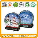 De Doos van het Tin van het Suikergoed van de Banketbakkerij van Kerstmis van de douane voor de Giften van Kerstmis van de Verpakking