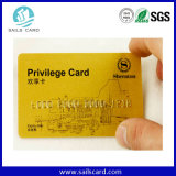 高い等級4カラーオフセット印刷プラスチックVIPのカード