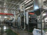 1000 kg-/hüberschüssige Plastikhaustierflaschenflocken, die waschende Zeile zerquetschen