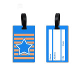 Heiße Verkaufs-Gepäck-Marken personifizierte Beutel-Zubehör-unbelegte Gepäck-Marke