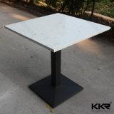 El Lujo moderno superficie sólida sobre la mesa de comedor de Mármol Piedra