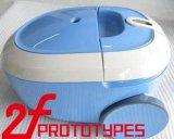 Pezzo meccanico del prototipo di CNC veloce personalizzato della plastica e del metallo con la pittura