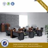 Poste de travail de mélamine de partition de bureau de personnes des meubles de bureau en métal 6