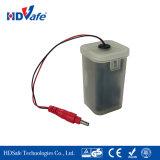 Tapkraan van de Mixer van Basintap van het Hete Water van de Macht van de batterij de Onmiddellijke Elektrische Thermostatische