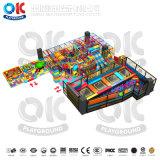 Beifall-Unterhaltungs-Multifunktionskind-Trampoline-Park-Innenspielplatz für Verkauf
